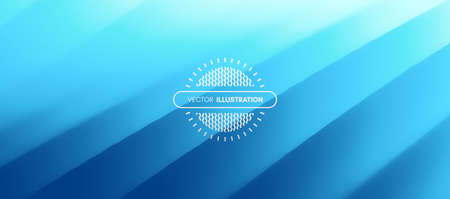 Blue abstract background from straight lines. Concept of cover with dynamic effect. Modern screen. Vector illustration for design.