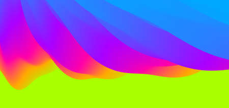 Abstract background with dynamic effect. Motion vector illustration. Trendy gradients. Can be used for advertising, marketing, presentation. Illustration