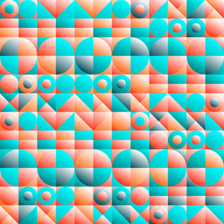 Abstract geometric design. Vector illustration. Pattern can be used as a template for brochure, annual report, magazine, poster, presentation, flyer and banner.