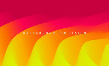 Abstract background with dynamic effect. Motion vector illustration. Trendy gradients. Can be used for advertising, marketing, presentation. Vecteurs