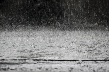 des pluies abondantes