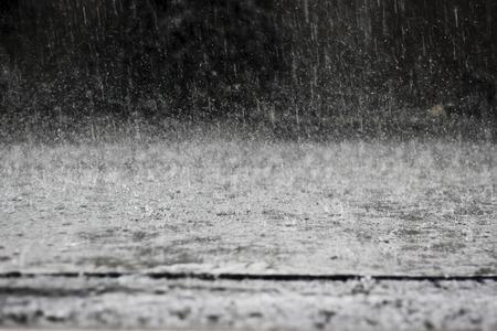 schwere regen