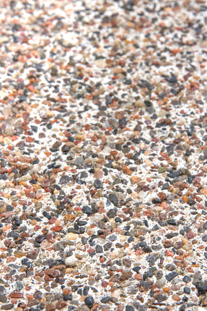 Varicoloured Natural Marble Chip Plaster Close Up Background Photo