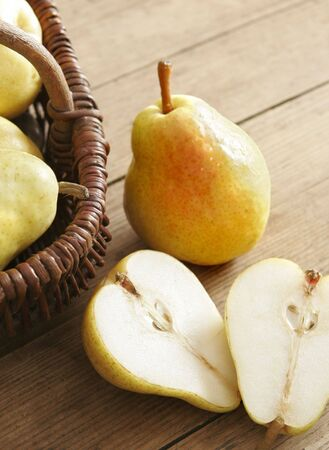 pear halves Stock Photo