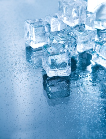 Blue Ambient Lighting Ice Cubes in Blue Ambient