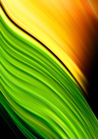 Green and orange background Stock Photo - 13536298