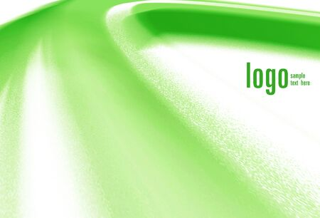 Green abstract motive  Space for text Stock Photo - 13849943