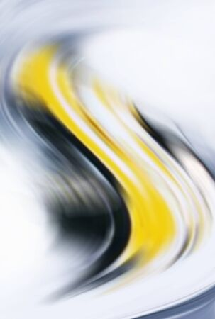 graphic backgrounds: Abstract grey, black and yellow background Stock Photo