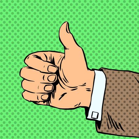 comic: El gesto es todo bien fino y autostop viaje del arte pop c�mics estilo retro de semitono. Imitaci�n de viejas ilustraciones