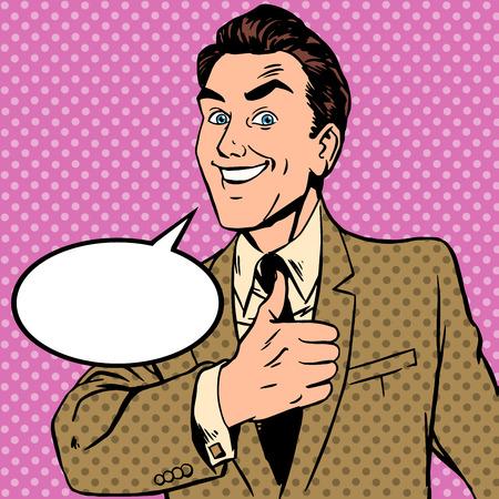 arte moderno: Gesto masculino manos pulgar tambi�n. Vale gran bien recomendar a la perfecci�n el concepto de negocio