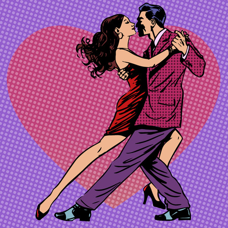 tanzen: Paar Tanzen