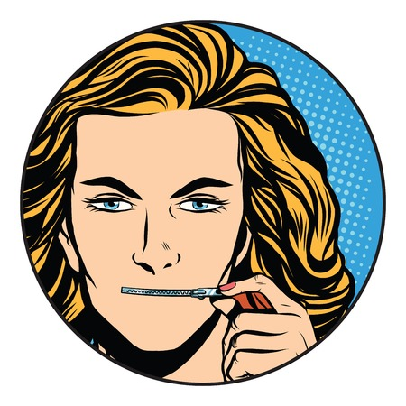silence: silence girl mouth over zipper closure pop art retro style. The secret of the company. State secret. Silence and mystery Illustration