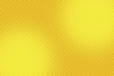 retro comic yellow background raster gradient halftone pop art retro style Vettoriali