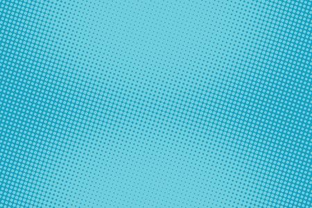 retro comic blue background raster gradient halftone pop art retro style Vectores