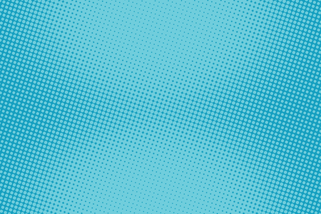 retro comic blue background raster gradient halftone pop art retro style Stock Illustratie