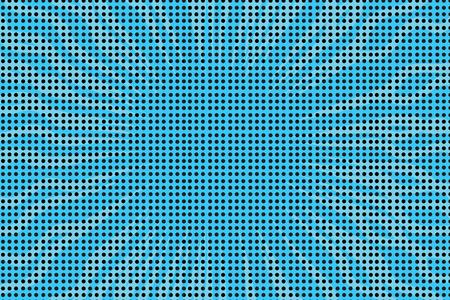 ブルーの pop アート レトロ コミック ハーフトーン背景ベクトル イラスト  イラスト・ベクター素材