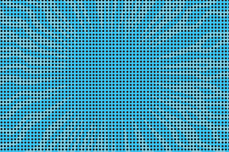 Blue pop art retro comic book halftone background vector illustration