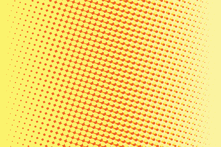gradient: Abstract yellow red gradient pop art retro background