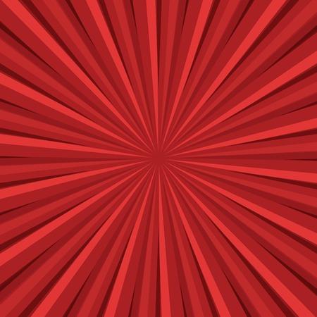 retro: Red rays retro background
