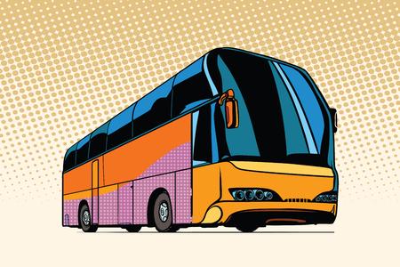 toeristenbus, openbaar vervoer Vector Illustratie