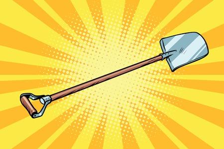 shovel garden tool Illustration