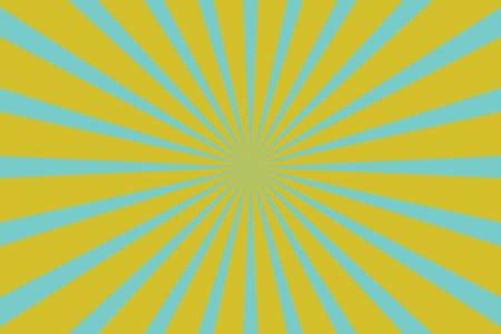 Fond pop art jaune jaune avec des rayons. illustration vectorielle rétro Banque d'images - 80261489