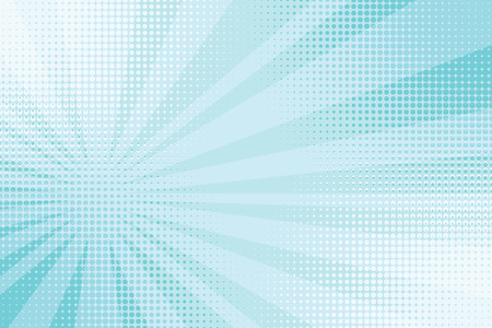 blue rays pop art comic background