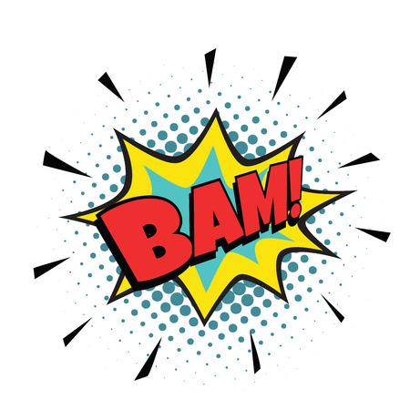 bam comic bubble