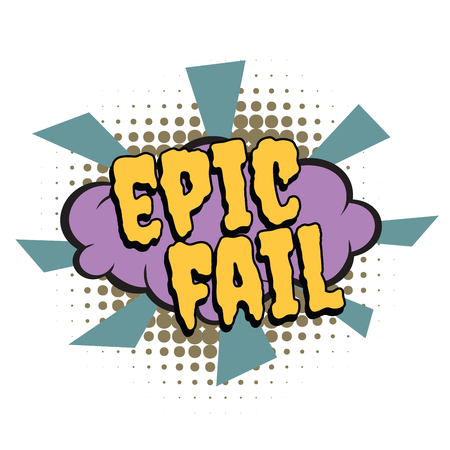 epic fail comic word