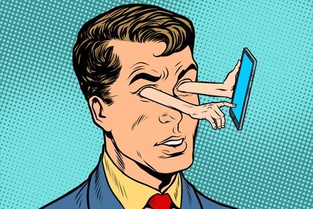Dirección de la mirada y el gadget