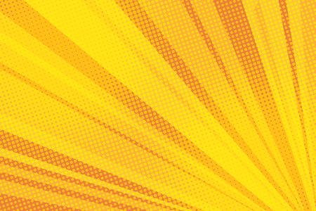 Luz de fundo amarelo pop art Foto de archivo - 93264498