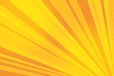 Pop art yellow background light