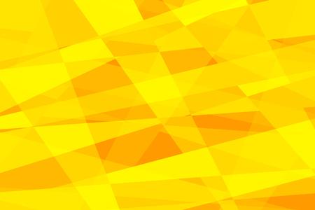 yellow geometric abstract background. Pop art retro vector illustration Ilustrace