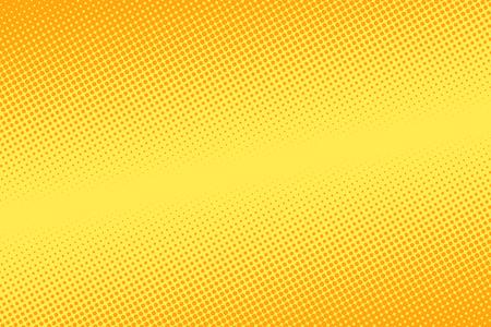 yellow halftone background. Pop art retro vector illustration