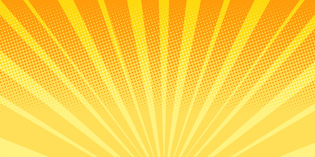 orange rays sunrise abstract background Stock Photo