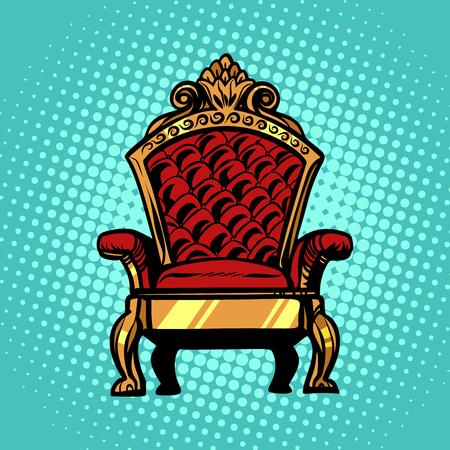 throne, symbol of Royal power Stock Photo