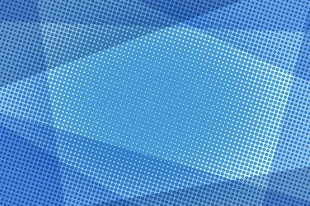Blue halftone background Ilustração
