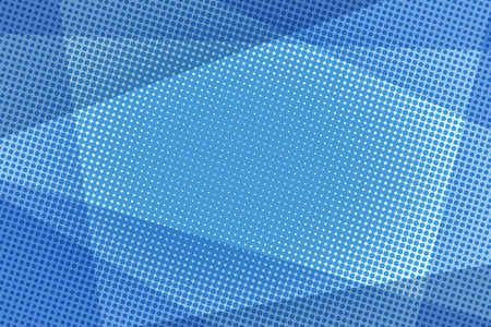 Blue halftone background Illustration