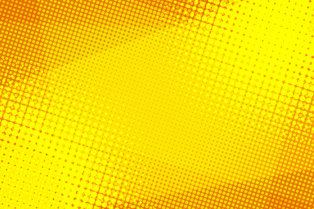 Yellow halftone background