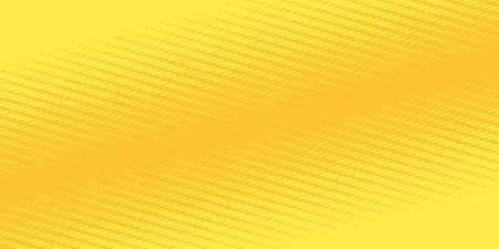 yellow orange halftone background Ilustração