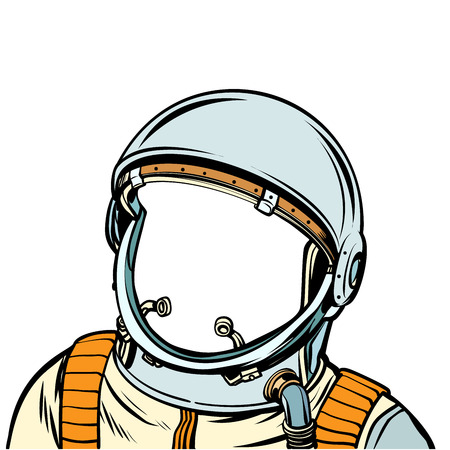 space suit. astronaut. Pop art retro vector illustration kitsch vintage drawing Vektorové ilustrace