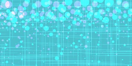 turquoise bubbles. Pop art retro vector illustration