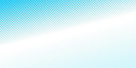 Blue white abstract pop art background. Pop art retro vector illustration kitsch vintage