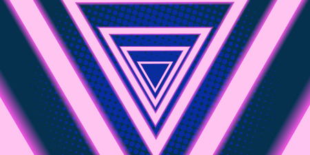 triangle eighties background 80s 1980 Reklamní fotografie - 113195366