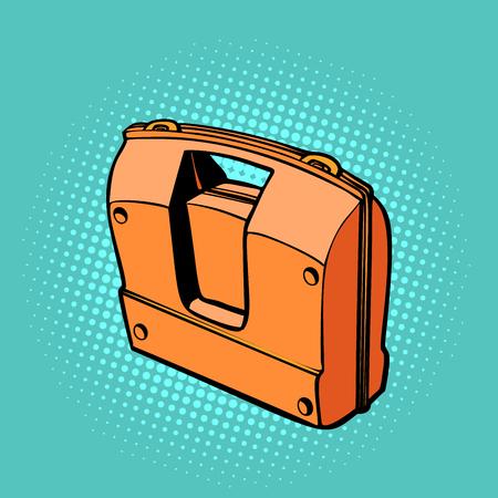 working tool box. Pop art retro vector illustration kitsch vintage