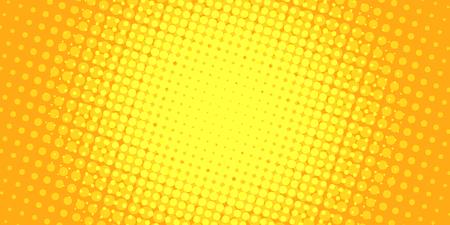 yellow halftone background. Pop art retro vector illustration vintage kitsch