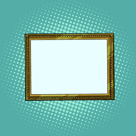 picture frame, blank pattern Stock Illustratie