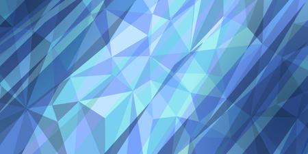 fondo de triángulo azul rayado Ilustración de vector