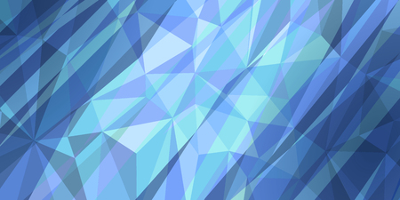 hatched blue triangle background