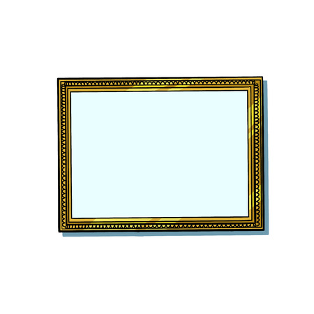 picture frame, blank pattern Stockfoto - 123123578